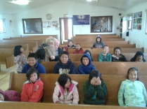 Bible Club in Eek