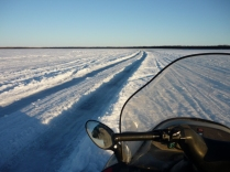 ice road to Kwethluk